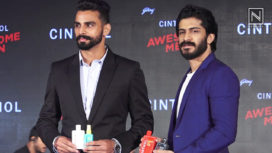 Harshvardhan Kapoor and Arpinder Singh Launch Grooming Products for Men