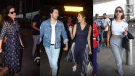 Celebrities Dressed to Impress at the Airport