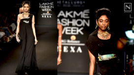 Studio Metallurgy Presents an All Black and Gold Collection at Lakme Fashion Week WF18