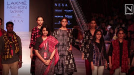 Indigene x Barpali & Nuapatna Showcase on Day 2 of Lakme Fashion Week WF18