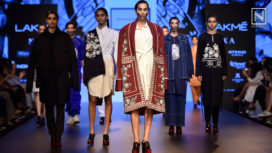 Armaan Randhawa Makes an Impactful Statement at Lakme Fashion Week Winter Festive18