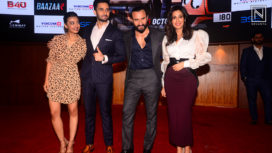 The Star Cast of Bazaar Launches its Trailer with a Grand Event