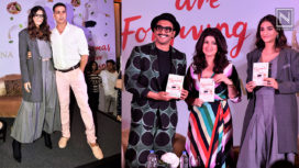 Celebrities Lend Support to Twinkle Khanna for her Third Book Launch