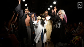 Prateik Babbar Walks for Gender Neutral Collection by Chola at Lakme Fashion Week WF18
