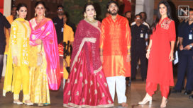 Bollywood Celebrities Attending the Occasion of Ganesh Chaturthi with the Ambanis