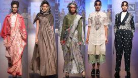 INIFD Presents Gen Next on Day 1 at Lakme Fashion Week Winter Festive 2018