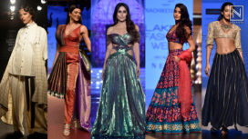 Here is a Gist of What Unfurled at Lakme Fashion Week Winter Festive 2018
