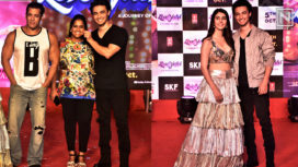 LoveYatri Star Cast Along with Salman Khan Promote their Movie