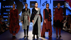 Mohammed Mazhar Presents an Rafugar at Lakme Fashion Week Winter Festive 2018