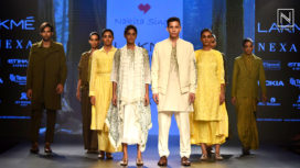 Nakita Singh Showcases Travel & Nature Inspired Collection at Lakme Fashion Week WF18