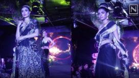 Ramesh Dembla Showcases his Collection Black Magic at Runway World Fashion Show