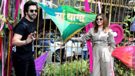 Anushka Sharma and Varun Dhawan Paint the City in the Colours of Sui Dhaga