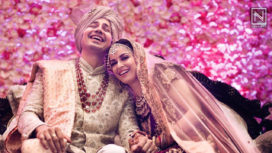 Congratulating Sumeet Vyas and Ekta Kaul on Getting Married!