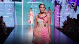 Anupama Dayal Showcases at Lotus Makeup India Fashion Week SS19
