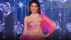 Jacqueline Fernandez Gleams in Pink for Shehla Khan at The Wedding Junction 2018