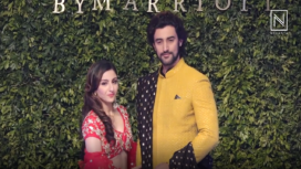 Soha Ali Khan and Kunal Kapoor Turns Bride and Bridegroom for Vikram Phadnis