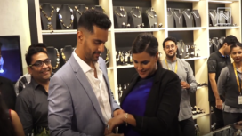 Neha Dhupia and Angad Bedi On Their Love for Jewellery