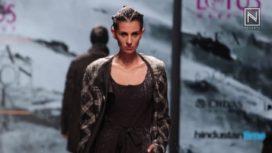 Asymmetric Silhouettes by Rajesh Pratap Singh at Lotus Makeup India Fashion Week SS19