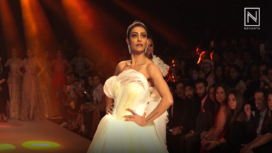Sushmita Sen Owns Ramp as the Showstopper for Neeta Lulla at BTFW 2018