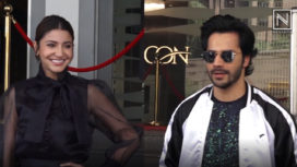 Anushka Sharma and Varun Dhawan Come Together for the Success Meet of Sui Dhaga