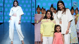 Diana Penty Turns Muse to Vidhi Wadhvani at Lotus Makeup India Fashion Week SS19