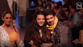 Saqib Saleem Talks About Walking for Two Point Two with Huma Qureshi at LFW WF18