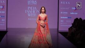 Yami Gautam Turns Bride for WNW at Lotus Makeup India Fashion Week SS19