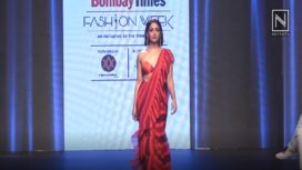 Yami Gautam Turns Muse to Gehna Jewellers at Bombay Times Fashion Week 2018
