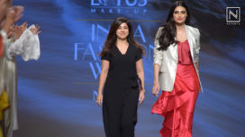 Athiya Shetty Walks for PoshPride's Modern Collection at LMIFW SS19