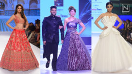 Celebs Showstoppers at Bombay Times Fashion Week 2018