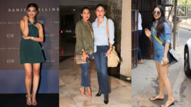 From Denims to Athleisure, Bollywood Celebs Amp Up Their Fashion Game