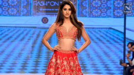 Disha Patani Turns Beautiful Bride for KALKI at Bombay Times Fashion Week 2018