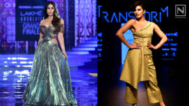 Designers and their Showstoppers - Kareena Kapoor Khan and Jacqueline Fernandez