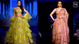 Designers and their Showstoppers - Malaika Arora and Dia Mirza