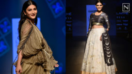 Designers and their Showstoppers - Shruti Haasan and Saiyami Kher