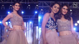 Fatima Sana Shaikh Walks the Ramp for Sonaakshi Raaj at the Wedding Junction 2018