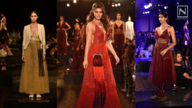 Jacqueline Fernandez Looks Red Hot as the Showstopper for Jade's 10th Anniversary