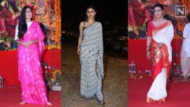 Celebrities Who Came Together for Maha Navami Celebrations