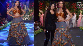 Malaika Arora Stuns as a Showstopper for Kashmiraa at the Wedding Junction 2018