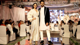 Kiara Advani and Kartik Aaryan Turn Muses to Manish Malhotra at Wedding Junction Show