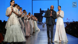 Samant Chauhan Showcases at Lotus Makeup India Fashion Week Spring Summer 2019