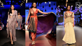 10 Modern Ways from LFW WF18 to Amp Up Your Sari Game