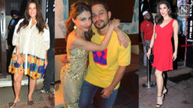 Soha Ali Khan Rings in a Star Studded Birthday with Kunal Khemu and Other Celebs