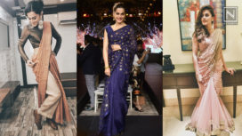 Check Out Taapsee Pannu's On-Point Sari Game