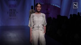 Amrich Showcases at Lotus Makeup India Fashion Week SS19