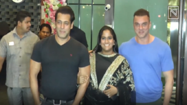 Bollywood Celebs at Arpita Khan's Diwali Bash