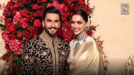 Deepika and Ranveer's First Look from Their Bengaluru Reception