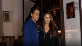 Shah Rukh Khan Turns Guest to Gauri Khan's Decorated Restaurant