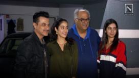 Janhvi, Khushi and Arjun at Sanjay Kapoor's House Party