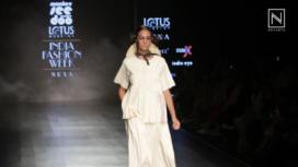 Munkee See Munkee Doo Showcases Tribal Motifs at Lotus Makeup India Fashion Week SS19